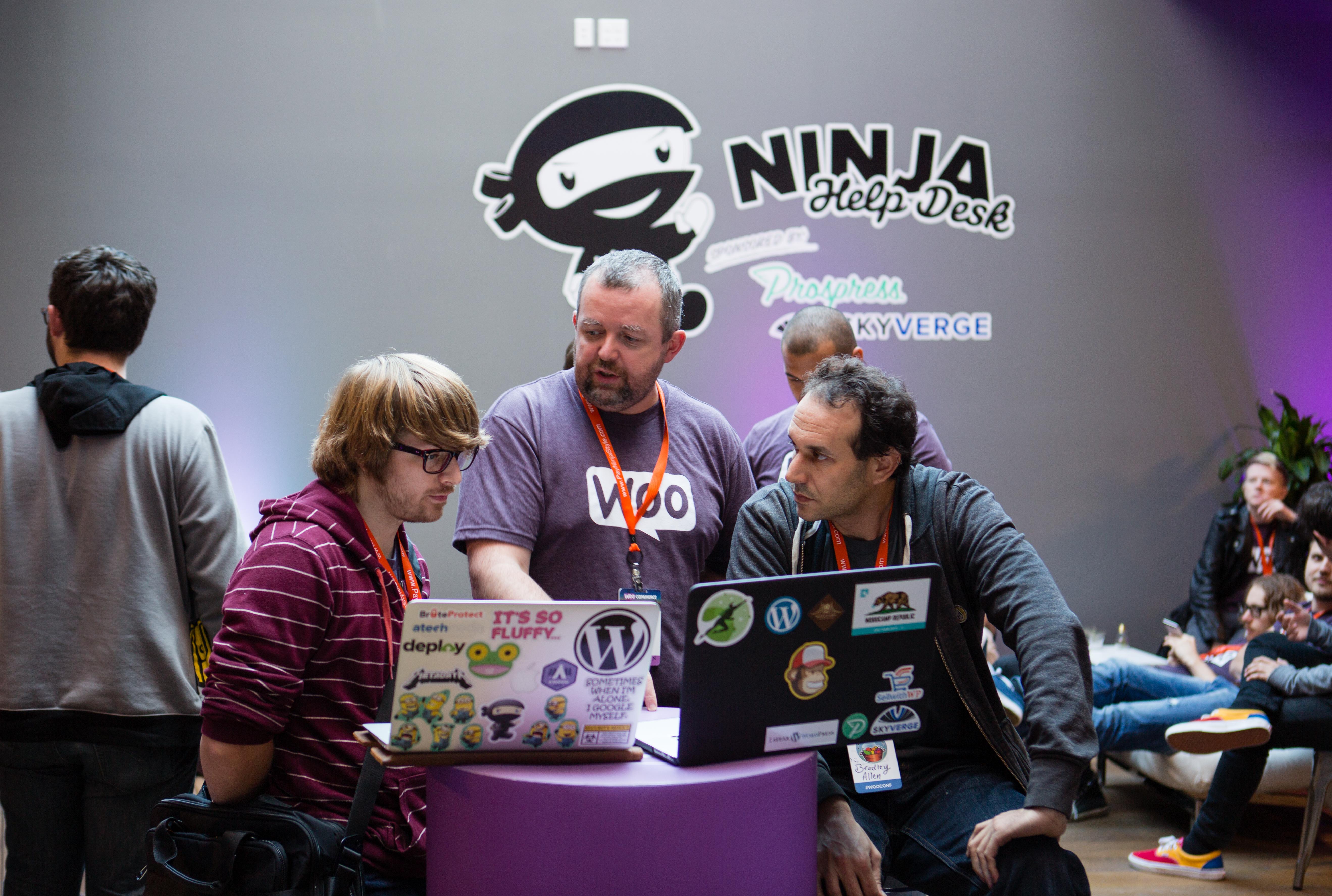 Ninja help desk